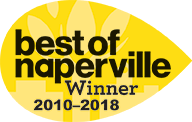 Naperville Magazine- Best of Naperville Winner 2015-2016.